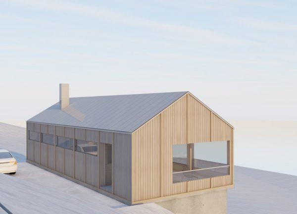 Fjällstuga härjedalen av Enflo Arkitekter